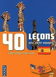 Coffret 40 leçons pour parler espagnol (livre + 2CD)
