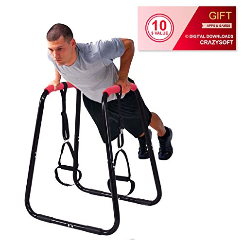 Fitness Strength Training Dipping Station By Choice Products