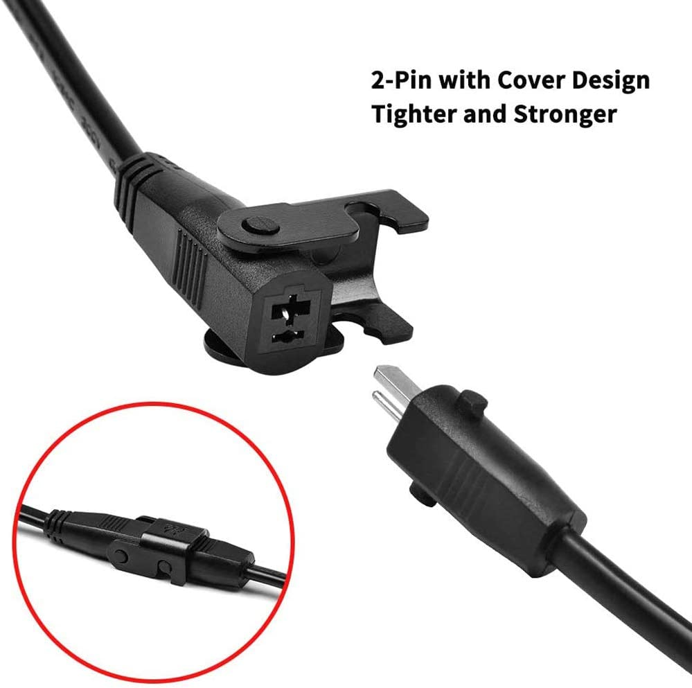 EOSKY 8.2 Feet Extension Cord Replacement Power Supply Cable for Okin Lift Chair or Power Recliner