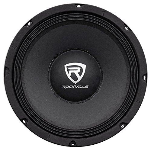 "Rockville RM104PRO 10"" 600 Watt 4 Ohm SPL Car Midrange Mid-"