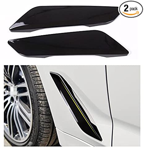 Side Wing Air Vent Hood Intake Fender Cover Trim For Bmw 5 Series G30 2017 2018 Accessories