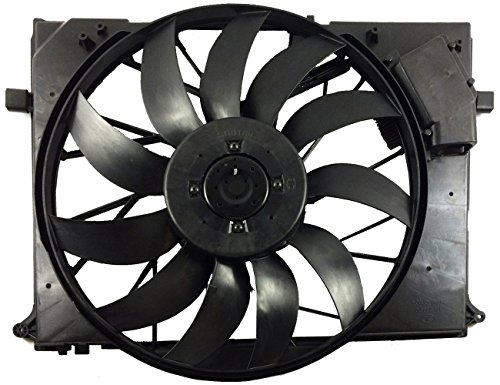 TOPAZ 2205000293 850W Brushless Cooling Fan Assembly for Mercedes W220 CL S  class