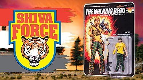Shiva-The Walking Dead Shiva fuerza Figura De Acción ** nuevo **