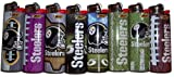Bic Lighters Pittsburgh Steelers NFL Officially Licensed Full Size 8pc Set