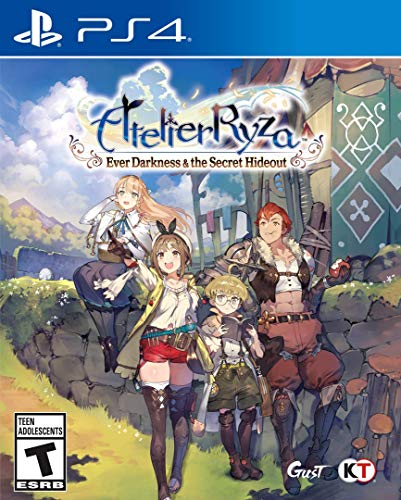 51nH6JHFvgL - Atelier Ryza: Ever Darkness & The Secret Hideout - PlayStation 4