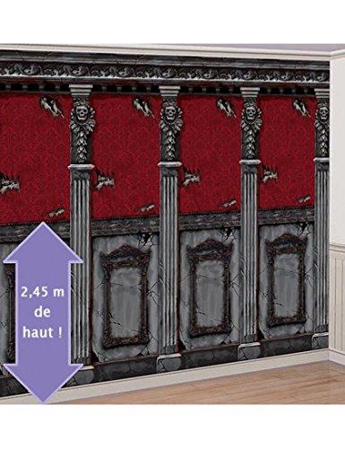 Amscan International Scene Setter Room Rolls Gothic Mansion