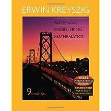 Advanced Engineering Mathematics International Edition by Erwin Kreyszig (2006-07-29)