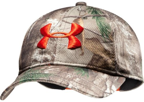 Best Deals! Under Armour UA Camo Adjustable Cap OSFA REALTREE AP-XTRA