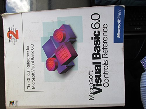 (Microsoft Visual basic 6.0 controls reference ( volume 2) [Paperback] Unknown)