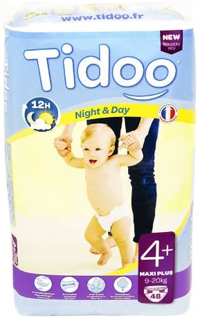 48 Couches Night and Day Tidoo Maxi + 9-20kg