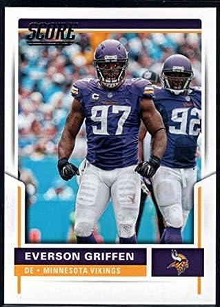 newest 39941 631e4 Amazon.com: 2017 Score #168 Everson Griffen Minnesota ...