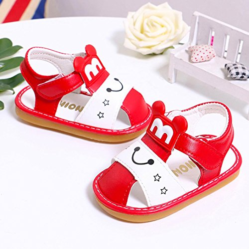 bobo4818 Infant Kinder Baby Jungen Mädchen Cartoon Anti-Rutsch-Schuhe Soft Sohle Sneakers 17