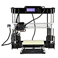 Auto Levelling Anet A8 with Included Filament - Prusa i3 DIY 3D Printer w/Self Levelling Sensor by Anet