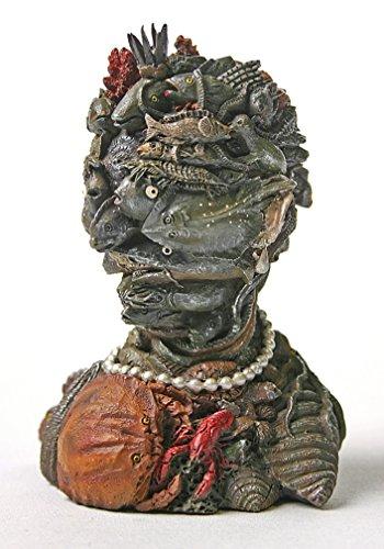 Fish Sea Life Composite Head Surreal Portrait Statue by Arcimboldo 4.5H