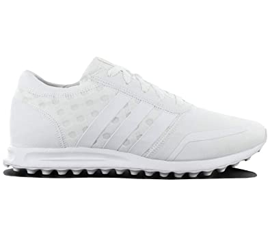 online store 3ddb1 3da50 Amazon.com   adidas Originals Los Angeles Womens Running Trainers Sneakers  (UK 3.5 US 5 EU 36, White White S76575)   Fashion Sneakers