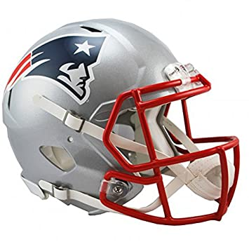 NFL New England Patriots oficial Mini réplica casco – 13 cm de alto