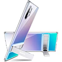 "ESR Metal Kickstand Compatible with Galaxy Note 10 Plus Case, Vertical and Horizontal Stand, Reinforced Drop Protection,Flexible TPU Case for Samsung Galaxy Note 10+ / 10 Plus / 5G 6.8"" (2019),Clear"