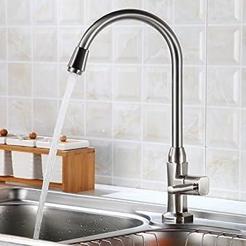 auralum® elegant hochwertig kaltwasser armatur küchenarmatur ... - Spüle Armatur Küche