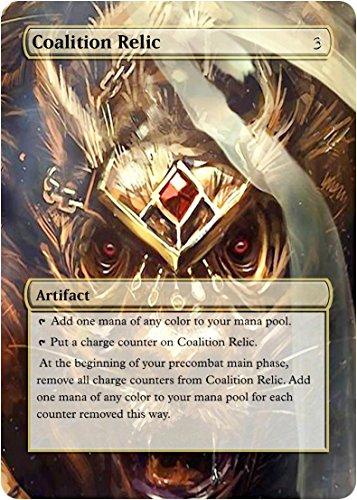 Coalition Relic - Edh Casual Play Only - Art Overlay - Non