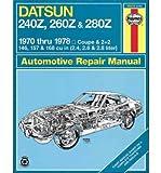 [(Datsun 240Z/260Z Owner's Workshop Manual)] [Author: J. H. Haynes] published on (September, 1988)