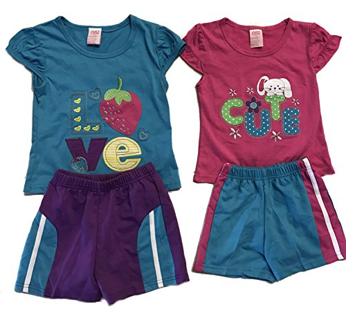 44041-18M Just Love Two Piece Short Set (Pack of 2)