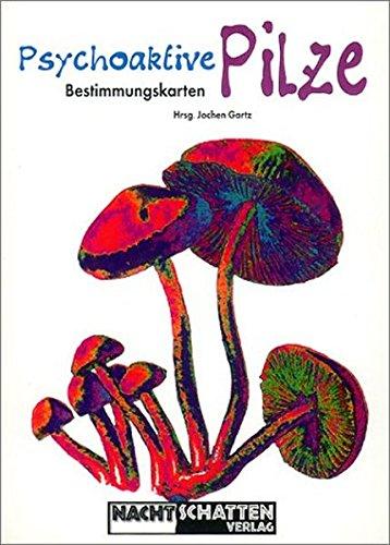 Psychoaktive Pilze: Bestimmungskarten. Postkartenset