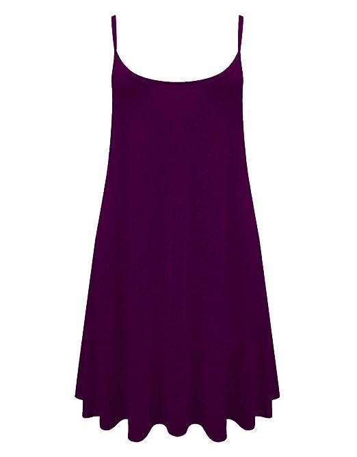 d8b8f6db02d Vestido corto y amplio sin mangas para mujer  Amazon.es  Ropa y accesorios