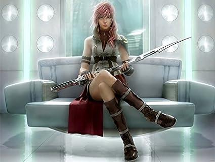 Amazon Com Sv6038 Lightning Final Fantasy Xiii Ff 13 Anime