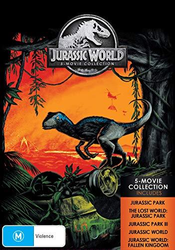 Jurassic Park / Jurassic World 5 Movie Collection | NON-USA Format | PAL | Region 4 Import - Australia