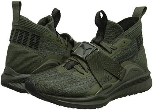 Hommes Ignite Marron Evoknit puma Shade Night forest calme 2 Cross Sneakers Puma Noir XYqdwY