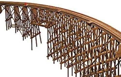 Escala H0 Kit Construcción Grandes Puente De Madera: Amazon.es: Juguetes y juegos