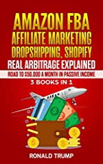 If you are looking to master the art of making money online using the power of the internet, then … this is the books series you should not miss!E-commerce online platforms like Amazon, Shopify, Dropshipping, Real arbitrage and Affiliate Mark...