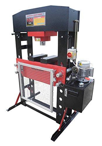 Redline 100 Ton Electric Hydraulic Shop Press (Press Shop 100 Ton)