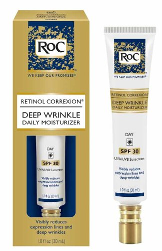 RoC Deep Wrinkle Daily Moisturizer SPF30, 1 Oz 381370083207