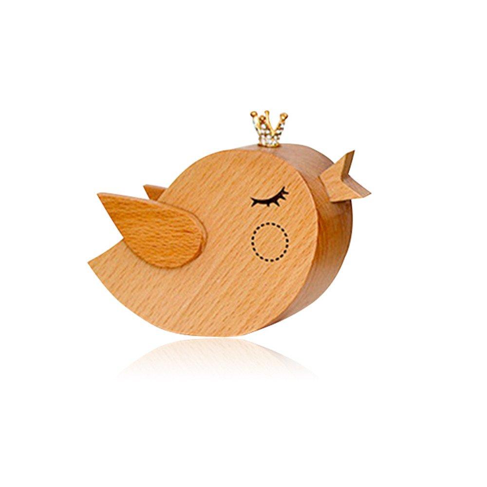 値引きする (bird) - (bird) Triket Putars Wooden Mini Cute Beech Music B01MZ1OFBK Box for Kids ,Fashion Small Triket Box for Christmas, Birthday Present (bird) B01MZ1OFBK 鳥, flags tsubo shop:8654962f --- arcego.dominiotemporario.com