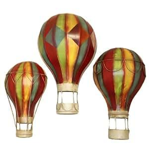 amazoncom grand spectacular hot air balloons metal wall