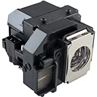 Kingoo Excellent Projector Lamp For EPSON H335A Replacement projector Lamp Bulb with Housing