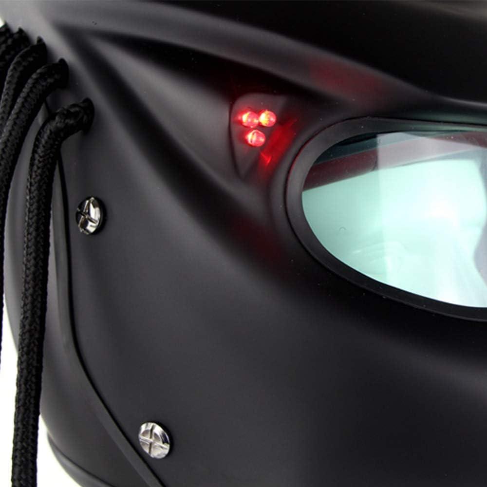 Certification Compl/ète De La Certification Dot pour Le Casque De Motocross Rally Pro Cr/éatif /À Couverture Int/égrale,XL59~60cm NightGhost Casque De Moto Predator