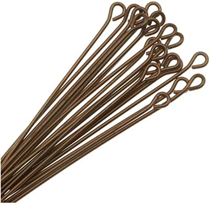 Vintaj Natural Brass Head Pins 21 Gauge 2 Inch 20