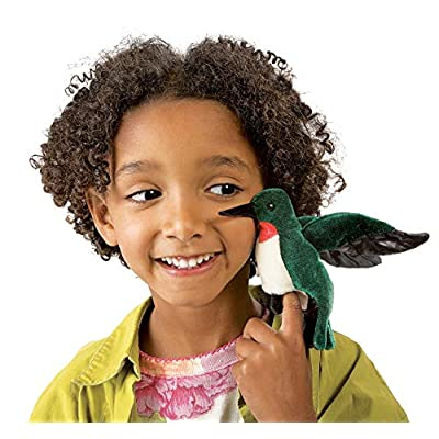 Folkmanis Mini Hummingbird Finger Puppet: Toys & Games