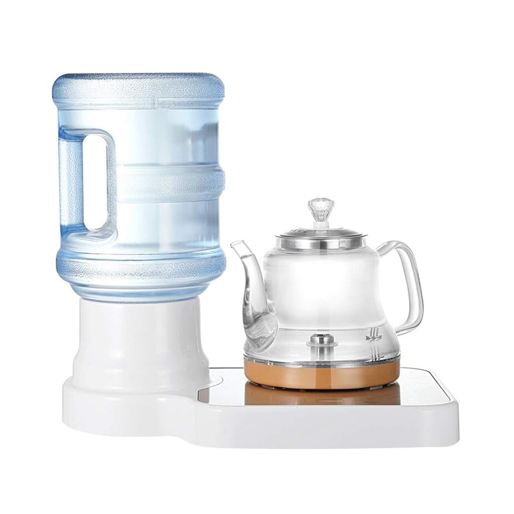 CUIS- White Desktop Small Water Dispenser, Home Office Mini Speed Hot Tea Bar, Automatic Power Off
