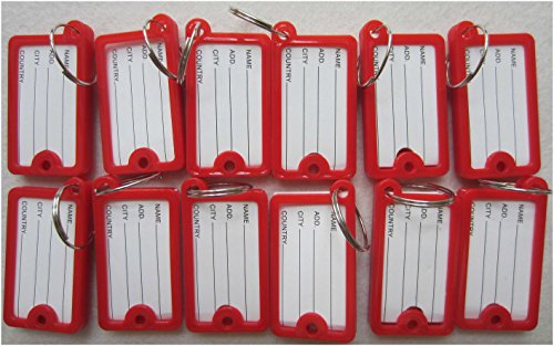 red key tags - 5