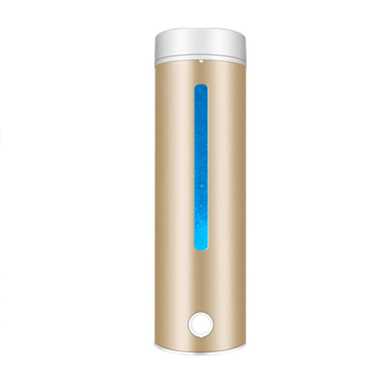 2019人気新作 ポータブル3分水素リッチウォーターボトル再充電可能な高濃度水素ジェネレーターガラスボトルアンチエイジング抗酸化アルカリウォータージェネレーター Gold、300ml Gold B07H6L3S1T B07H6L3S1T, MiHAMAの家具:9e73920d --- a0267596.xsph.ru