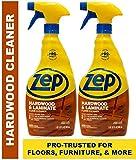 Zep Hardwood & Laminate Floor Cleaner 32 ounce ECZUHLF322 (Pack of 2)