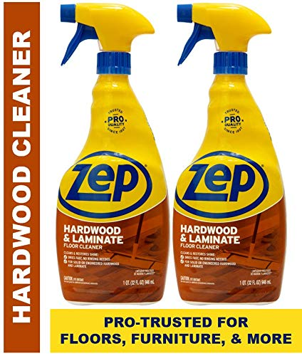 Zep Hardwood & Laminate Floor Cleaner 32 ounce ECZUHLF322 (Pack of 2) - Hardwood Crown Molding