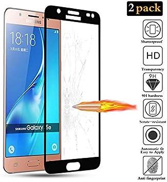 FMPC [2 Piezas Protector de Pantalla para Samsung Galaxy J5 2016 ...