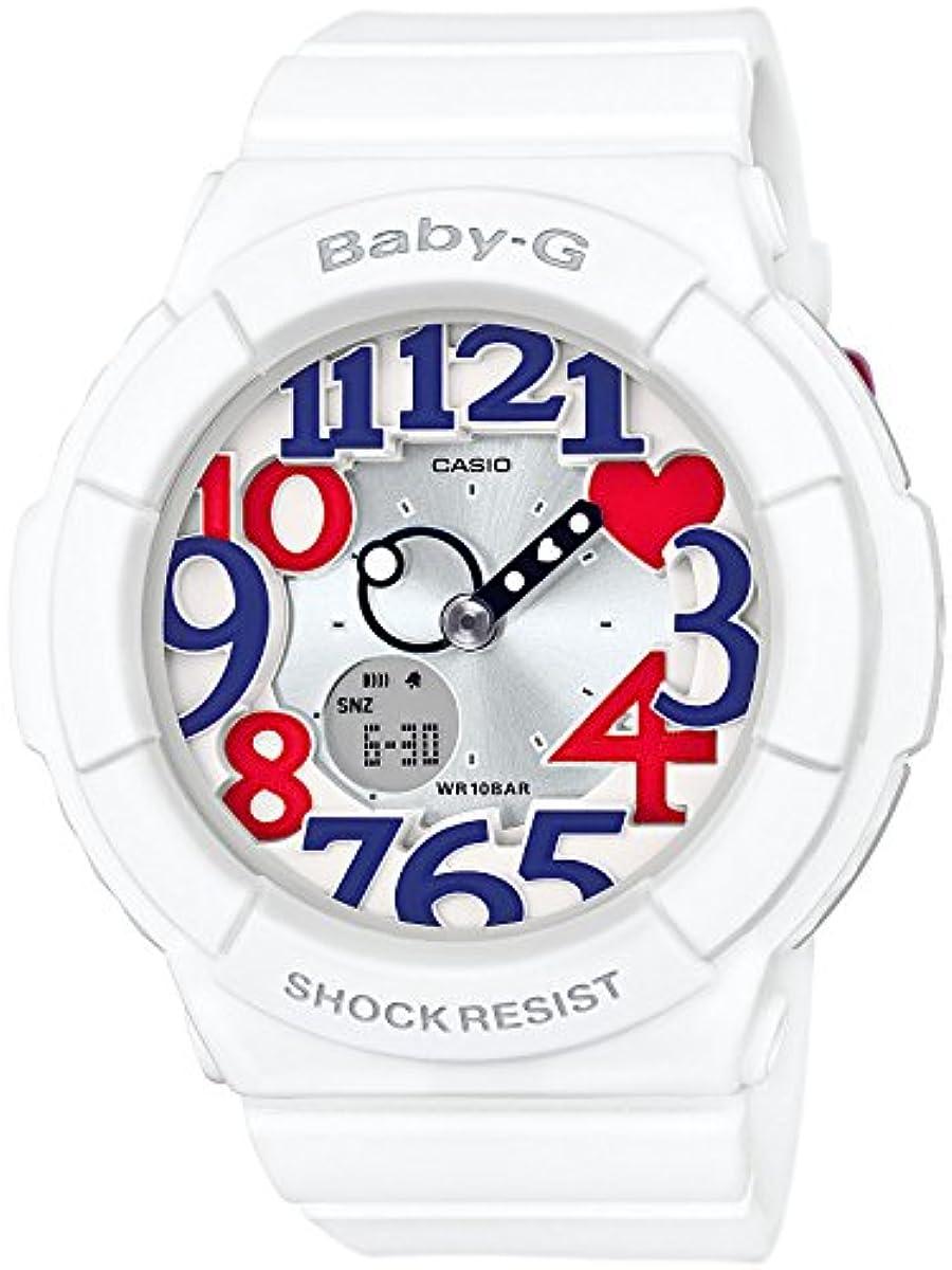 [해외] [카시오] BABY-G BABY-G WHITE TRICOLOR SERIES BGA-130TR-7BJF 손목시계 화이트