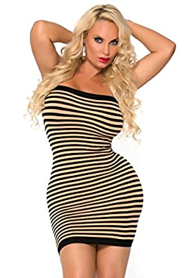 Cocolicious Women's Hot Coco Seamless Tube Dress