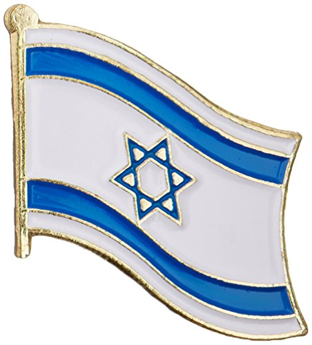 US Flag Store Israel Lapel Pin