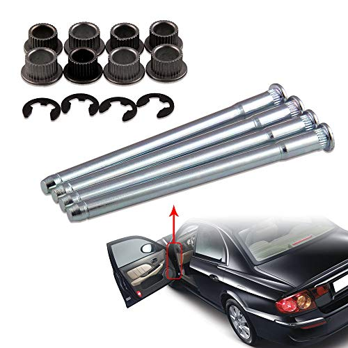 - Ruien Door Hinge Pins Pin and Bushing Repair Kit Compatible with 1988-2002 Chevy GMC Fullsize Truck Kit 4 pin Both 2